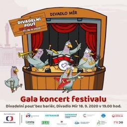 Gala koncert festivalu Divadelní pouť bez bariér
